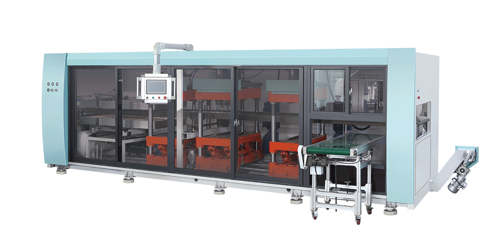Automatic Multi-station Thermoforming Machine